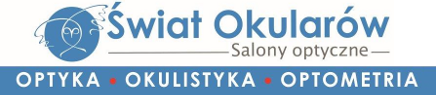 Świat Okularów – optyk, badanie wzroku – Bydgoszcz, Toruń